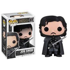 FUNKO Pop! TV: Game of Thrones - Jon Snow Collectible figure Pop! TV: Game of Thrones - action figures & collectibles (Collectible figure, Movie & TV series, Pop! TV: Game of Thrones, Multi, Vinilo, Caja)