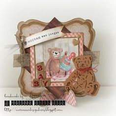 Marianne's Design Divas: Challenge 17, anything goes with minimum 3 Marianne Design products option BABY