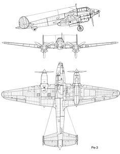 Pe-3 - Soviet ww2 bomber