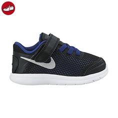 Nike Unisex Baby Flex 2016 RN (Tdv) Sneakers, Black (Schwarz / Metallic