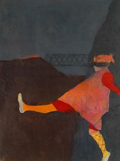Mel McCuddin Drop Kick, 2010 oil on canvas