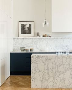 46 Most Popular Modern Kitchen Design Ideas. Why do you need modern kitchen design ideas? It can be very easy to have a home and decorate it. Luxury Kitchen Design, Best Kitchen Designs, Luxury Kitchens, Interior Design Kitchen, Home Design, Home Kitchens, Marble Kitchen Interior, Coastal Kitchens, Modern Design