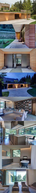 Villa in legno e casa di design casa prefabbricata in for Architetti di designer di case di lusso