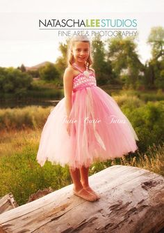 Woven Bodice Tutu Dress in Paris Pink and Ivory by TutieCutieTutus, $40.00