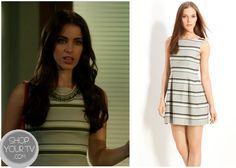 Shop Your Tv: 90210: Season 5 Episode 4 Adrianna's Striped Dress