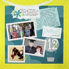 "Make your summertime memories last with a ""snapshot summer"" layout! from Creative Memories  http://www.creativememories.com"