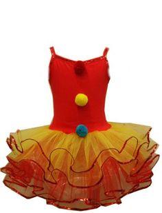 Toddler or Girls Clown Costume : Ballerina Clown Tutu Dress (4-5yrs) In Fashion Kids http://www.amazon.com/dp/B00D8I77YI/ref=cm_sw_r_pi_dp_arEFvb1B7A8TQ