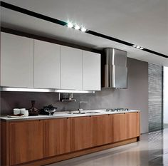 Image result for warm contemporary kitchen