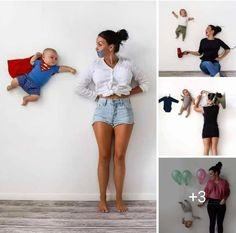 Top Baby Photoshoot Ideas at home with Mama - Baby Pictures , Top Baby Photoshoot Ideas at home with Mama Top Baby Photoshoot Ideas at home - DIY Like a BossBaby! Monthly Baby Photos, Newborn Baby Photos, Newborn Pictures, Maternity Pictures, Funny Baby Pictures, Maternity Outfits, Funny Pregnancy Photos, Baby Bump Photos, Pregnant Outfits