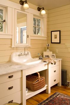 Farmhouse Bathroom Design Ideas, Pictures, Remodel, and Decor - page 3