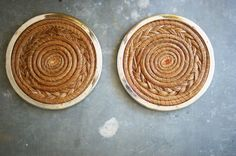 Pine Needle Trivets Hot Pads Rustic and Modern by susantique, $28.00