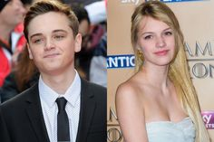 Dean-Charles Chapman, 17, and Nell Tiger Free, 15, are dating. You probably know them better by their characters' names on Game of Thrones: Tommen and Myrcella.