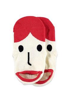 mom- Face Pattern Ankle Socks | Forever 21 - 2000078169