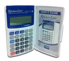 La Calculadora KitchenCalc y Sus Mejores Cualidades Los buenos chefs generalmente forjan sus habilidades en la cocina dia con dia …