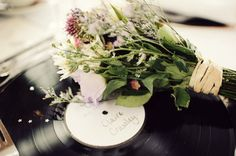 flowers and records