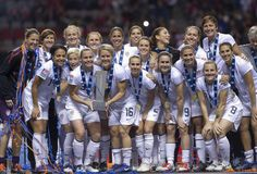 Image detail for -The United States Women's Olympic Soccer team poses for a photo after ...