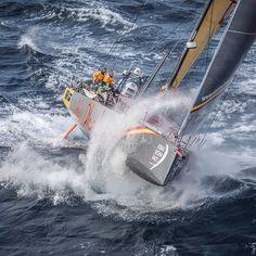 "3,887 Likes, 10 Comments - Volvo Ocean Race (@volvooceanrace) on Instagram: ""Abu Dhabi Ocean Racing caught on camera off Costa da Morte - Coast of Death. Photo by Ainhoa…"""