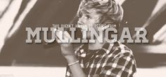 Nialler! Our Irish angel/snowflake!!! <3 It may not just happen to anybody from Mullingar but you are not just anybody! You are the most perfect person in the world! Your belief in true love is absolutely amazing and totally refreshing! There is nobody in the world who could take your spot in One Direction so don't let anybody tell you you don't belong. We love you and know that you are the perfect fit!