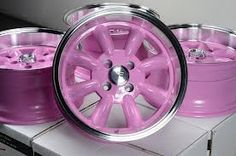 Effect Wheels Rims Pink Offset Integra Civic Accord Fit Prelude Pink Camaro, Honda Civic For Sale, Hello Kitty Car, Purple Wedges, Pink Rims, Rims For Cars, Aloe Vera Gel, Golf Carts, Dream Cars