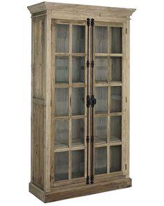 Elmwood Solid Elm 2 Door Display Unit Material: Elm Colour: Brown Size: x x Continue reading → Door Displays, Rustic Kitchen, China Cabinet, The Unit, Doors, Storage, Furniture, Design, Alternative