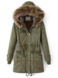 bc7bddfb598 Best Top 10 Winter Long Coat For Women. Down CoatArmy GreenMilitary ...
