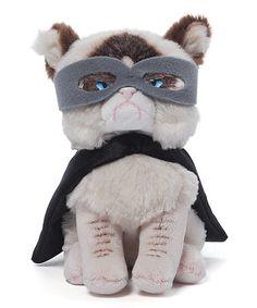 Look what I found on #zulily! GUND Grumpy Cat Superhero Beanbag Doll #zulilyfinds