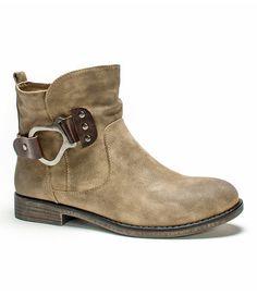 Look what I found on #zulily! Medium Beige Hayden Boot by MUK LUKS #zulilyfinds