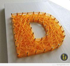 String Art Ideas | String Art DIY | Tutorials, videos and free patterns to do String Art DIY - Part 3