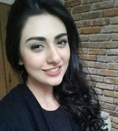 Sarah Khan In Black