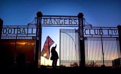 At night Rangers Football, Rangers Fc, Glasgow, Past, Club, Night, Board, Sports, Travel