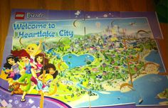 Lego friends puzzle. Downloaded this printable from Lego.com laminated it and cut out. Perfect for treat bag.