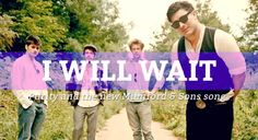 "mumford and sons ""i will wait"" as it relates to purity (whether intentional or not)"