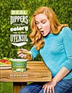 Dana Hursey Shoots Ad Campaign for Dean's Dip