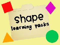 Shape learning pack