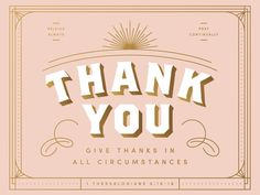 Thank You Card by Evermorn