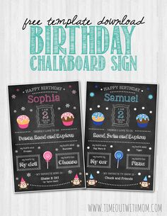 Chalkboard signs have been all the craze lately. You literally see them in every cake smash and birthday milestone photo sessions. And most recently; baby showers, engagements and even wedding rece…
