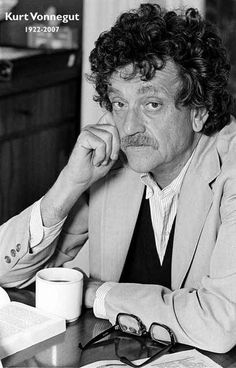 A great poster! Kurt Vonnegut is one of the best writers of the 20th Century…