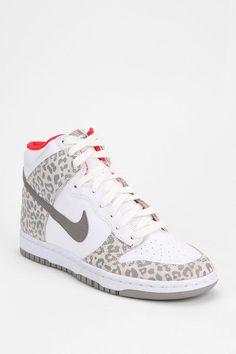 f1d3243febc Nike Animal Print Dunk High-Top Sneaker Colorful Sneakers
