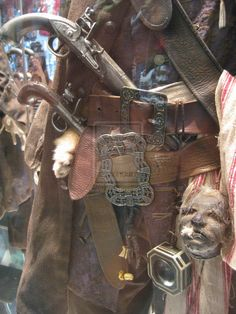 Jack Sparrow's Costume Detail by ShipperTrish on DeviantArt Jack Sparrow Cosplay, Jack Sparrow Costume, Sea Pirates, Pirates Of The Caribbean, Charles Vane, Barbary Coast, On Stranger Tides, Pirate Fashion, Late Middle Ages