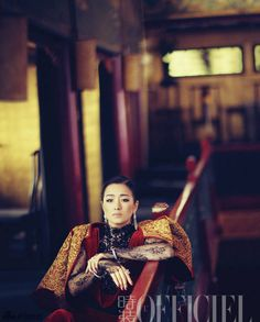Gong Li L'Officiel China