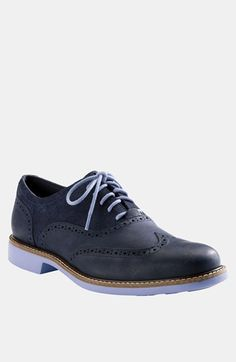 Free shipping and returns on Cole Haan 'Great Jones' Wingtip   (Men) at Nordstrom.com. Bold contrast details add a splash of color to a rich wingtip shaped from earthy leathers.