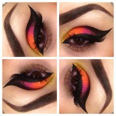 .@sugarpillmakeup | Beautiful Sugarpill look by Sheba Levoir using #Sugarpill Tako, Buttercupcake...