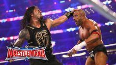 WrestleMania 32 results: Roman Reigns dethrones The King of Kings Roman Reigns Wrestlemania, Wwe Wrestlemania 32, World Heavyweight Championship, Divas, Wwe Ppv, Roman Regins, Wwe World, Full Match, Triple H