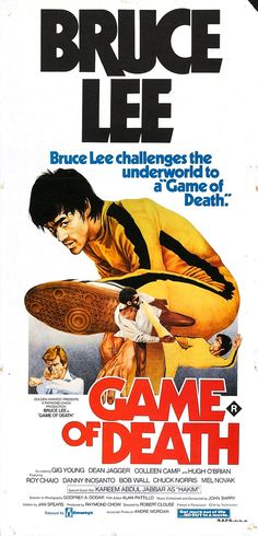 Game of Death (1978) #brucelee #exploitation #poster