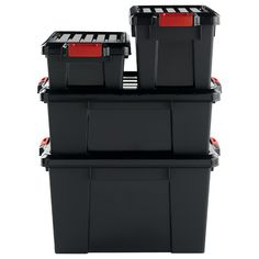 You can truly store it all with our Stor-It-All Totes! They stack on each other and can hold some seriously heavy weight