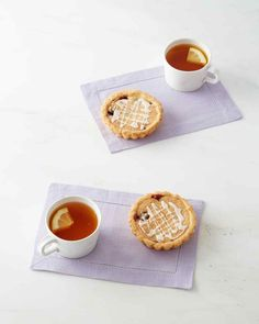 Bakewell Tarts This English pastry is noteworthy for its slick of jam topped with fragrant frangipane.