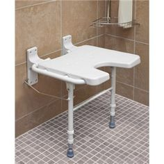 A perfect place to rest in the shower. The Healthsmart Foldaway Shower Seat folds discretely out of the way when it isn't needed and is readily available when desired. Safety and independence with products from Ease Living.