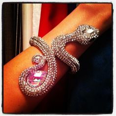 Today at my wrist. *** Arm candy. Fashion style. Jewelry. Bracelet. Bling.