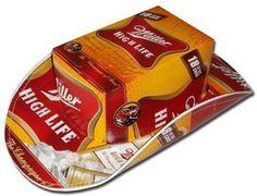 Miller High Life Beer Box Hat
