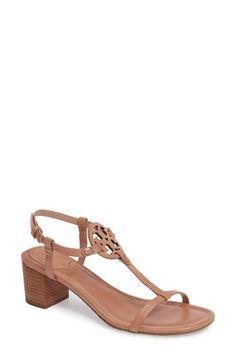 38df32168 Tory Burch Tory Burch Miller Block Heel Sandal (Women) available at   Nordstrom Block